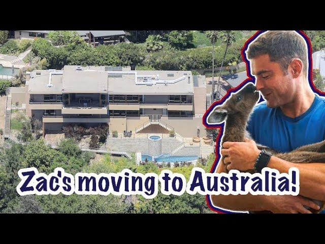 Zac Efron Unloads Los Feliz Mansion And Moves To Australia