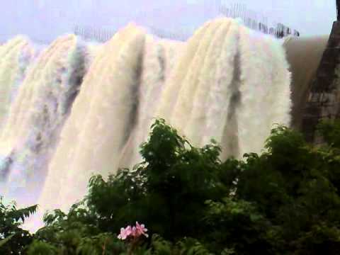 Narmada River Dam Overflowing