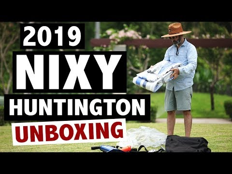 NIXY Huntington Inflatable SUP Unboxing (2019)