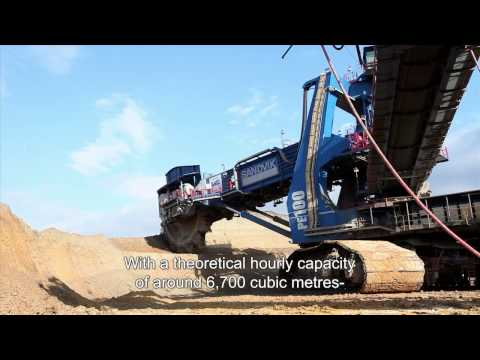 A lift for lignite