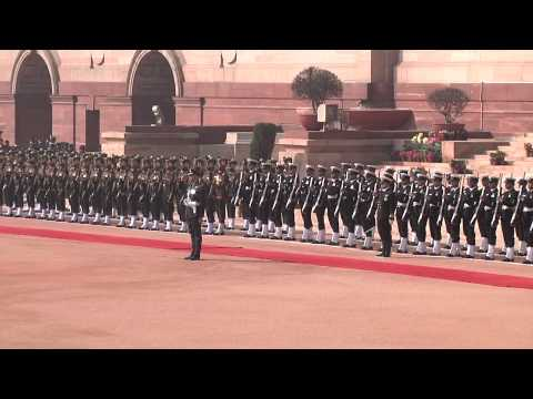 Ceremonial Reception of Governor General of Canada on February 24, 2014