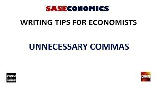 Unnecessary Commas: Writing Tips #2.
