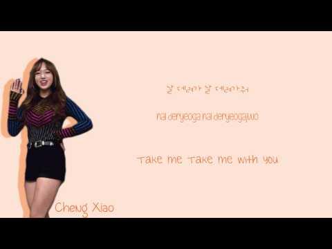 Sunny Girls - TAXI (Color-Coded-Lyrics (Han/Rom/Eng))