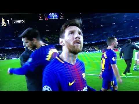 Jorge Jesus chama baixinho a Messi em directo