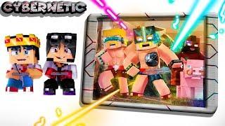 Minecraft Cybernetic - CLASH ROYALE DO FUTURO