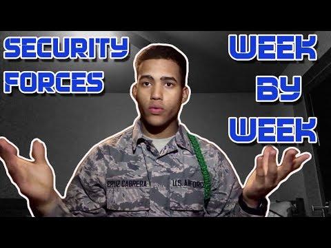 NEW 2017 Security Forces Tech School Week By Week Breakdown