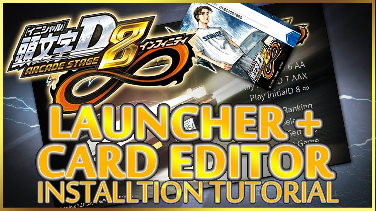 InitialD Arcade Stage Launcher FAQ | I'm Not MentaL
