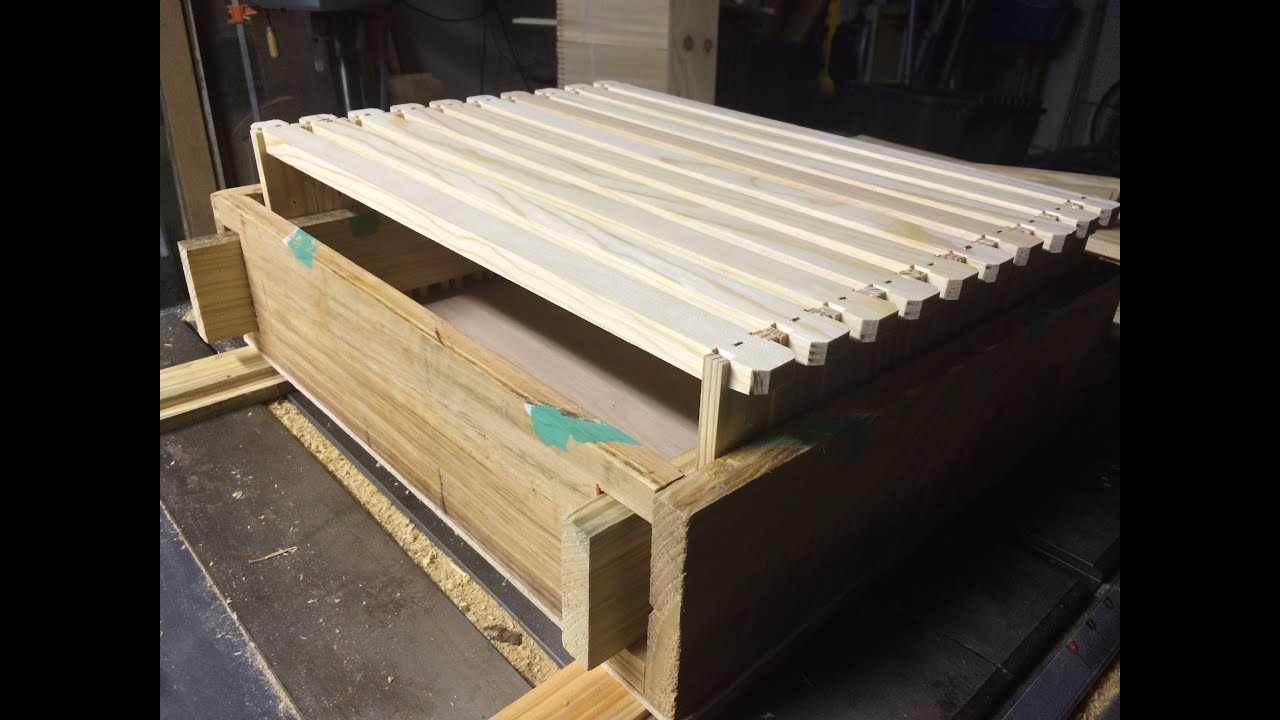 Langstroth Beehive Frame Assembly Jig; Explanation and Demonstration ...