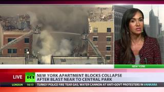 NYC buildings collapse: At least 2 dead as apartment block collapse after blast in East Harlem