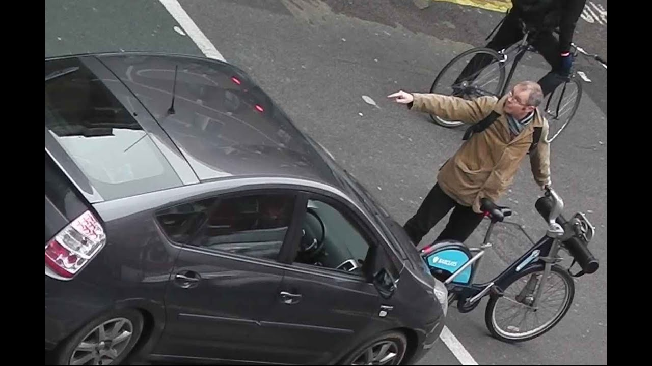 ANGRY CYCLIST Reacts To Being PUSHED Out Of BIKE ZONE ...