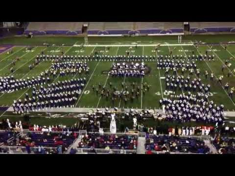 JMU Marching Royal Dukes perform Get It On and the JMU Fight Song