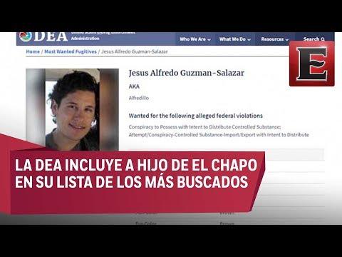 Alfredillo' Guzmán Salazar entre los 10 más buscados por la DEA