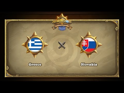 Греция vs Словакия | Greece vs Slovakia | Hearthstone Global Games (09.05.2017)