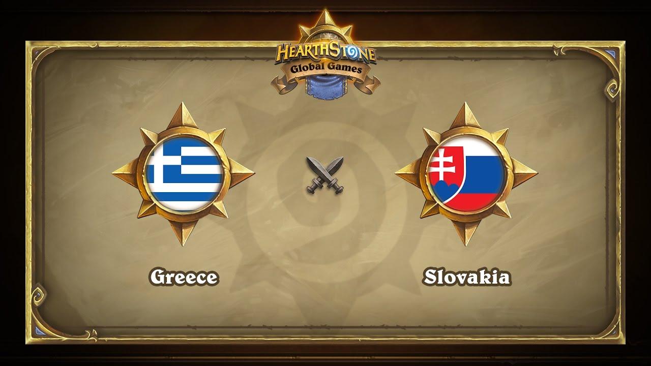 Греция vs Словакия | Greece vs Slovakia | Hearthstone Global Games (09.05.2017)