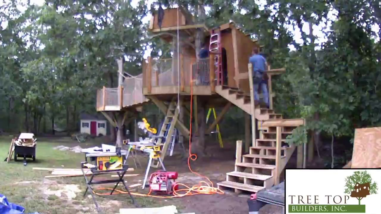 pirate ship treehouse make a wish youtube