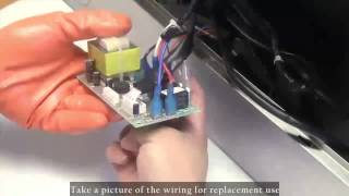 How to Replace AKDY Range Hood Circuit Board