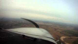 Landing at Ponca City, Oklahoma