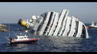 Капитан просто сбежал, бросив пассажиров на тонущем лайнере.Коста Конкордия как это было!