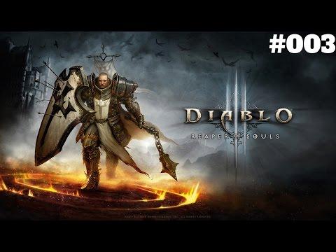 Let´s Play Diablo 3 UEE [PS4] - Kreuzritter Part 003 - Der Skelettkönig [HD] [Deutsch]