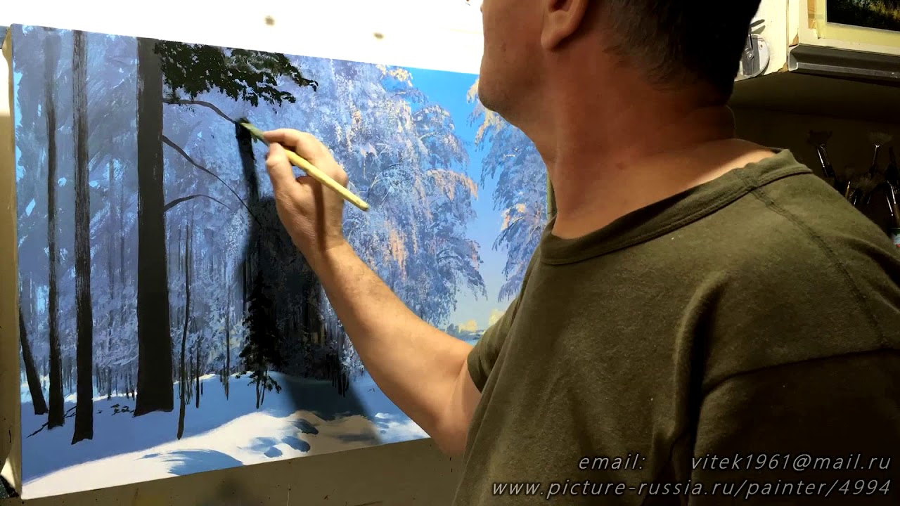 Clear day. write with acrylic. Artist - composer ...