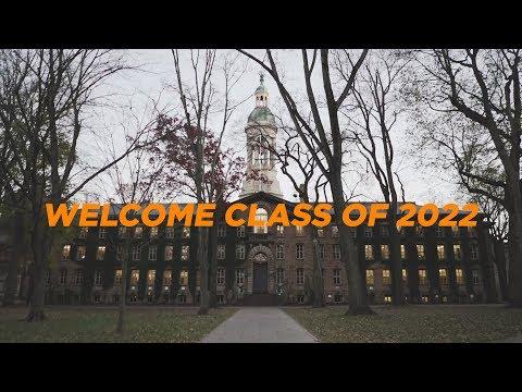 WELCOME PRINCETON CLASS OF 2022 | Princeton University Orientation