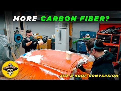 DIY 350z Carbon Fiber Roof | Making The Mold | (EP #15)(4K)