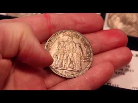 France 5 francs 1849 A Unc