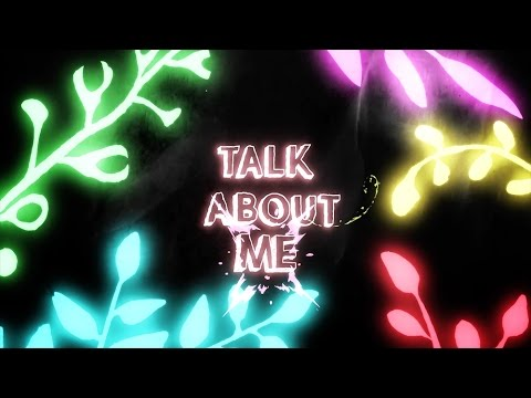 Justin Caruso - Talk About Me (ft. Victoria Zaro) [Lyric Video]