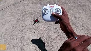 Syma X27 Ladybug -Flight Review (Ladybug Flys Away)