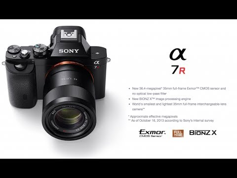 Why Mirrorless Over Dslr Sony Alpha A7r A7 A6000 Youtube