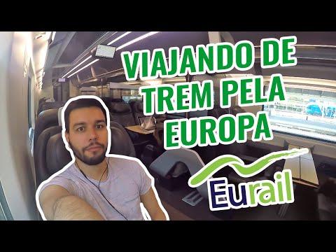 Viajar de trem pela Europa com a Eurail | Tô Longe de Casa