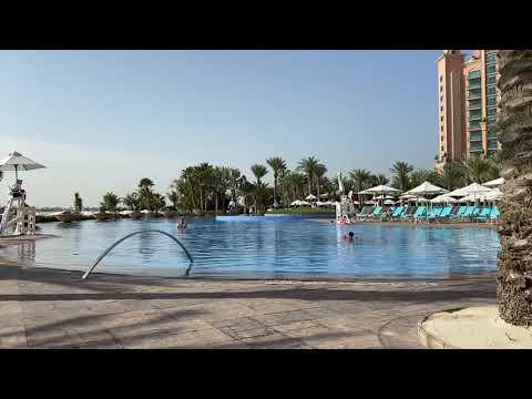 Palm Atlantis swimming pool ❤️ #Dubai