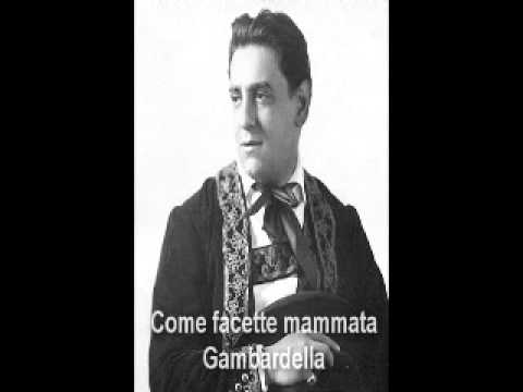 Tito Schipa sings 4 Neapolitan songs: O' Marinariello, Come facette mammata and plus...