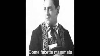 Tito Schipa sings 4 Neapolitan songs: O