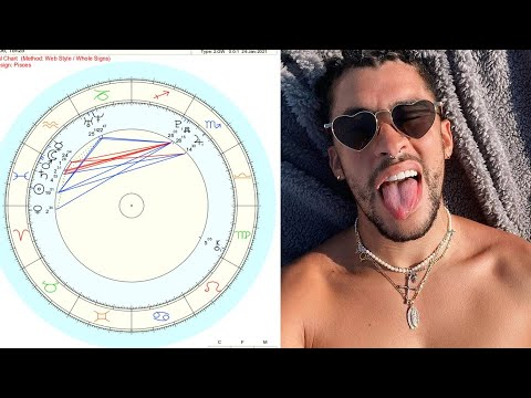 An Astrologer Reads Bad Bunny's Chart🔮 - YouTube