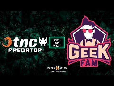 TNC Predator vs Geek Fam Game 1 l China dota2 supermajor SEA Qualifiers (BO2)
