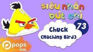 Hướng Dẫn Vẽ Chuck (Maching Bird) - Siêu Nhân Bút Chì - Tập 73 - How to draw Chuck (Maching Bird)