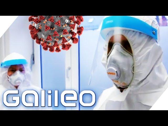 Arbeiten in Corona-Teststation: Wie gefährlich und hart ist der Job? | Galileo | ProSieben