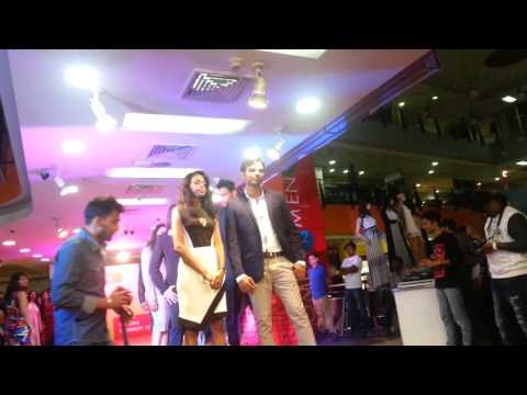 Fashion show hyderabad central 2016