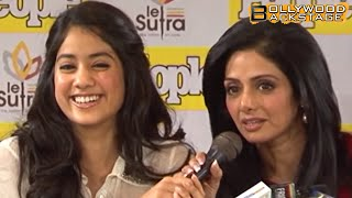 Jhanvi Kapoor Speaking In Hindi NOW And BEFORE !