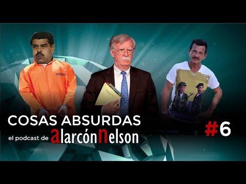 ▶ COSAS ABSURDAS #6 – Bolton y las tropas a Colombia - Maduro preso en Guantánamo - Rodrigo Cadete