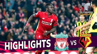 Liverpool vs. Watford: 5-0 Goals & Highlights   Premier League   Telemundo Deportes