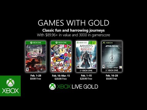Xbox Games With Gold February 2020.Xbox February 2019 Games With Gold
