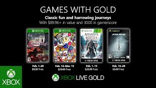 Xbox   February 2019 Games With Gold