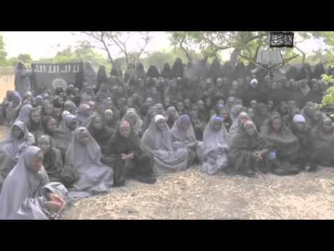Nigeria kidnapped girls 'shown' in new Boko Haram video
