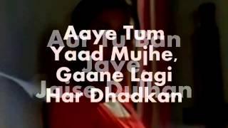 Aaye Tum Yaad Mujhe-Karaoke & Lyrics-Mili
