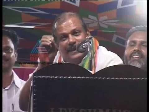 """Fight between PC George and Ganesh Kumar""-Vikadakavi 15,July 2012 Part 1"