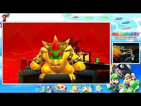 Mario Party Island Tour Party Mode: Part 7 Bowser's Peculiar Peak!