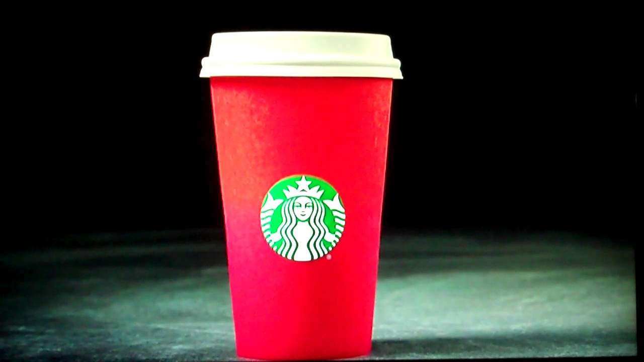 Starbucks ends 2016 CHRISTMAS CUP Controversy...RED CUPS ARE ...