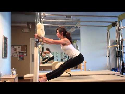 Pilates Spread Eagle variation